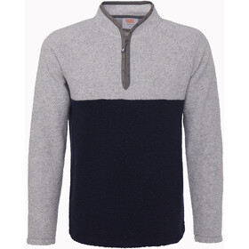 Varg Dragö Uldtrøje Herrer, gravel grey/navy blue